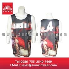 2014 latest basketball jersey designs/custom sublimation basketball jersey/team new model sports jersey