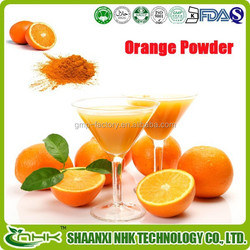 GMP factory supply high quality 100% natural slimming orange powder, orange juice powder