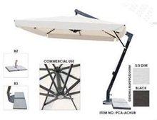 2012 3.5x3.5m commercial use aluminum hanging ploe umbrella