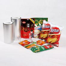 Jc potato chips packaging rollo de película / bolsas, seca yuca chips packaging bolsitas