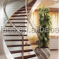heat curved glass price for stair railing
