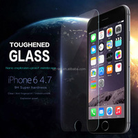 Best selling 9H 2.5D 0.33mm Silver diamond flash Anti-shock,Anti-explosion tempered glass screen protector for iphone 6s