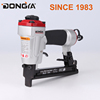 ce factory air nail gun machine with aluminum alloy body loading 100 staples