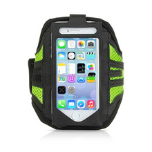 high quality elastic and durable neoprene armband mobile phone pouch/case/sleeve