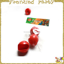 Eco-friendly red plastic clown nose with rope FGN-0010