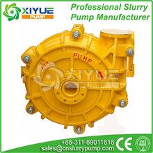 Hot sale abrasion resistant construction used slurry pump