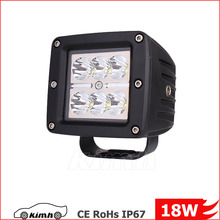 3 Inch Truck Offroad Amber 18W Auto LED Work Light