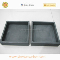 carbon graphite mold for glass casting