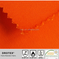 EN11611 EN11612 330gsm flame retardant fabric for safety clothing/work wear