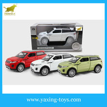 1:32 Pull Back Metal Toy Car Door Opened With Light And Music For Sale YX001118