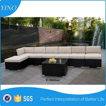 Outdoor Patio Wicker Furniture Sofa 8pc Modern Lounge Suite RZ1846