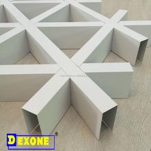 Triangle shape grid Aluminum custormized ceiling