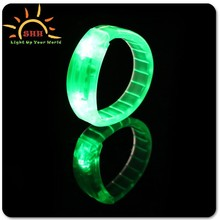 fashionable bracelets with led lights, sound activated bracelet with CPSIA certificate