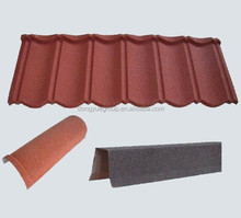 Classical thermal insulation stone coat roof tile Dongyue roof manufacturere install tile roof