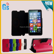 2015 Most Popular Handbags Flip Cover For Microsoft For Nokia Lumia 430 Leather Case