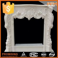 polished surface decorative butane fireplace