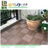 Outdoor Plastic Wood Decking PVC Floor Decking Tile
