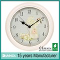 14 pulgadas de venta al por mayor cosecha decoración artesanal de metal reloj de pared
