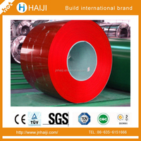 China color coated galvanized steel coil PPGI PPGL types of steel coils