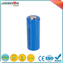 2015 new type 3.7v rechargeable battery,26650 lifepo4 battery