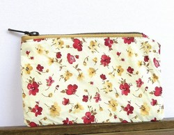 Smart Design Pretty Floral Printed Small Ladys Cosmetic Bag CT2078