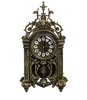 sell well European metal antique table clock for living room or office decor YL