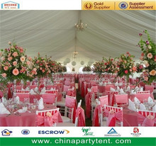Aluminum Frame Waterproof PVC Garden Gzebo Wedding Party Tent, Marquee Tent, Family Tent