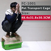 Flight plastic pet cage
