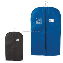 custom non woven Garment cover Bag suit protector coat cover