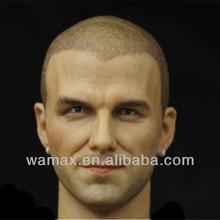 Custom PVC soccer superstar Beckham action figure bobble head