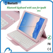 Bluetooth keyboard oem wholesale for ipad air 2 case leather new fashion