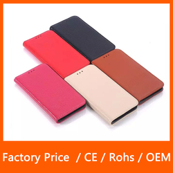 Magnetic Genuine Leather Wallet Case Flip Cover Phone Case For Samsung Galaxy S6