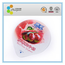 Aluminum Foil Induction Sealing Lids For Dairy Containers