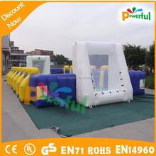 Hot selling human foosball inflatable,inflatable human foosball court