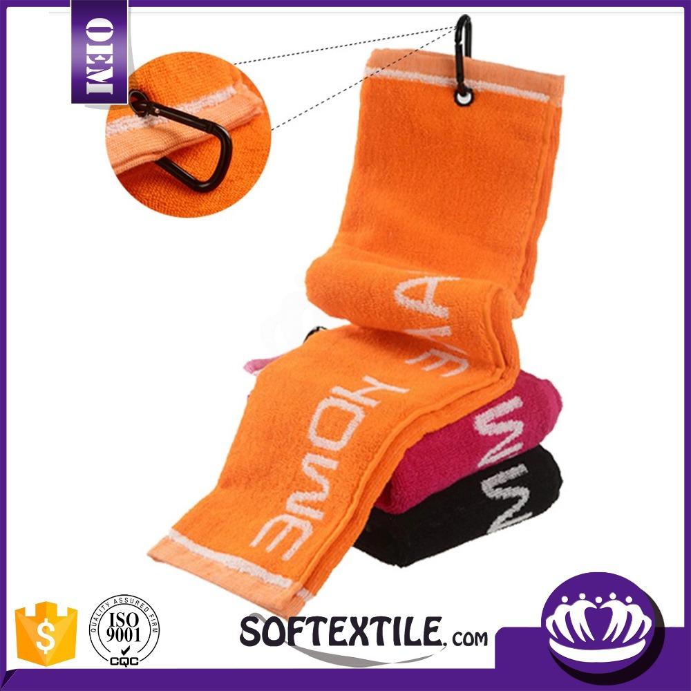 Hot Sale 100 Cotton Plain Dyed Sport Golf Towel Buy