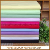 Wholesale custom colours 100% cotton sateen bedding fabrics