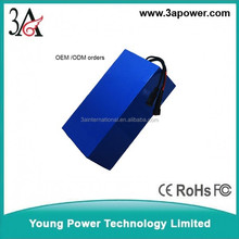 36v lithium battery 20ah battery pack for motorcycle