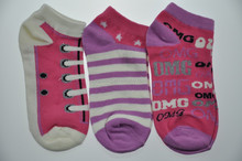 Women ankle socks. 3 - Pack. Shoes liked