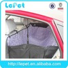 Deluxe travel pet Hammock Waterproof Dog car seat cover for dogs