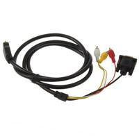 HDMI to VGA Converter Cable 3 RCA HDMI to VGA Adapter Cable