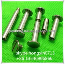 Manufacturer sales high quality fastener male and female screw,screw for menu