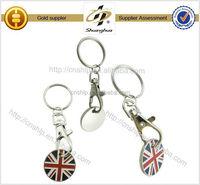 High Quality Custom Brand custom word keychain