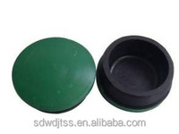 114mm guardrail round fence post caps