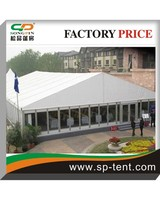 2014 Big outdoor aluminum frame tents for wedding and events with clear glass wall 20x40m for 500 people