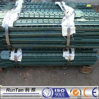 heavy duty 1.33lb/ft steel fence t post for sale