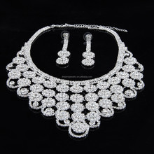 2015 New Fashion European Style Vintage Wedding Acrylic Crystal Necklace For Women