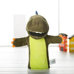 Soft Parasauropholus Dinosaur Animal Plush Puppet Toy/Plush Dinosaur Hand Puppet