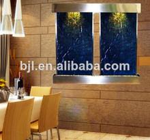 pared de agua característica decoración para el restaurante