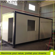 High Quality Low cost light steel frame 20ft Prefabricated home container home