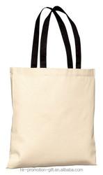 Factory Direct Sales cotton bag,plain white cotton canvas tote bag